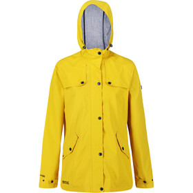 Regatta Bertille Waterproof Shell Jacket Women yellow sulphur